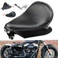 Мотоцикл черный SOLO пружинный кронштейн основание сиденья для Harley 48 Sportster 883 1200 XL Bobber Chopper