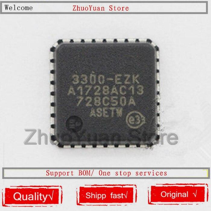 1PCS/lot USB3300-EZK-TR USB3300-EZK USB3300 QFN-32 New Original IC Chip