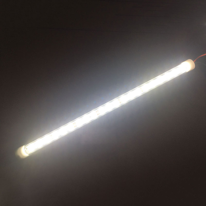 24V 6000k 24 LED Truck Vehicle Conversion Lights Cab Lighting  Work Light Bar White Large Interior Lights