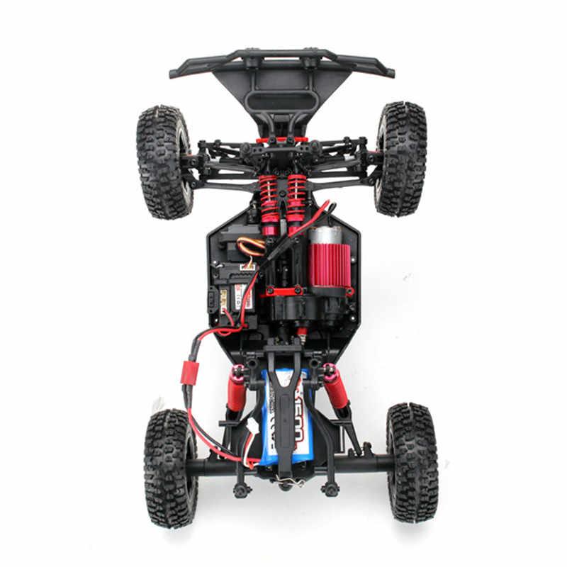 Nieuwe Hoge Kwaliteit Feiyue FY01 Fighter-1 1/12 2.4G 4WD Korte Cursus RC Auto Afstandsbediening Auto model Voertuig Speelgoed Blauw/Rood