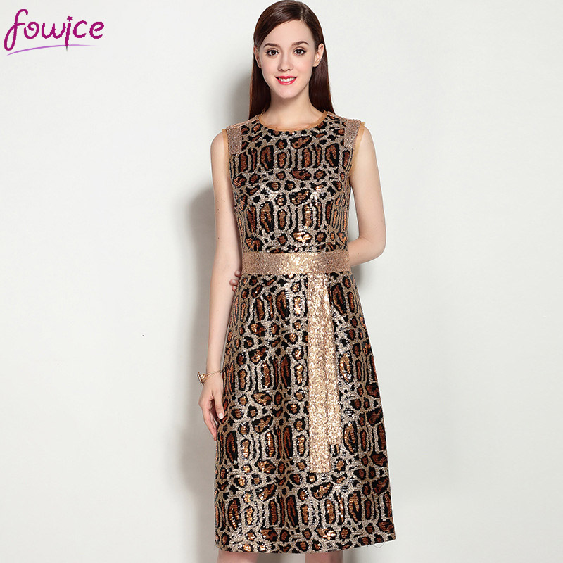Online Get Cheap Leopard Sequin Dress -Aliexpress.com | Alibaba Group