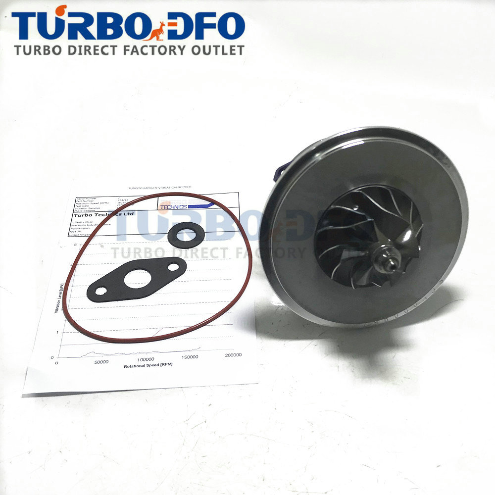 Balanced Turbo Lader GT1549S Turbine Cartridge CHRA 454216 454219 For Opel Astra G 2.0 DTI 74Kw X20DTH / Y20DTH 860046 860027