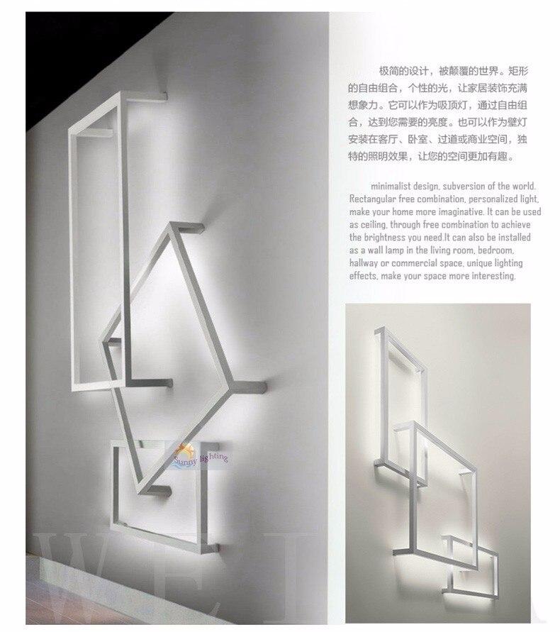 Deckenleuchten Wohnzimmer Schlafzimmer Moderne Led Decke Lichter Weiß Farbe Aluminium Avize Ac85-265v Lamparas De Techo Decke Lampe Leuchten Vertrieb Von QualitäTssicherung