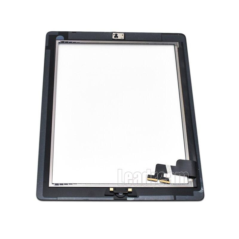 10 個無料 Dhl タブレットのタッチスクリーンの Ipad 2 3 4 含まれホームボタン + ステッカー + カメラホルダー完全なアセンブリ  グループ上の パソコン & オフィス からの タブレット液晶 & パネル の中 1