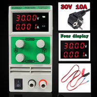 Mini Adjustable DC Power Supply Laboratory Power Supply Digital Variable Voltage Regulator 30V10A Four Display PS3010DM