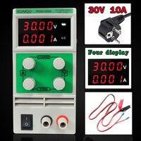Mini Adjustable DC Power Supply Laboratory Power Supply Digital Variable Voltage Regulator 30V10A Four Display PS3010DM