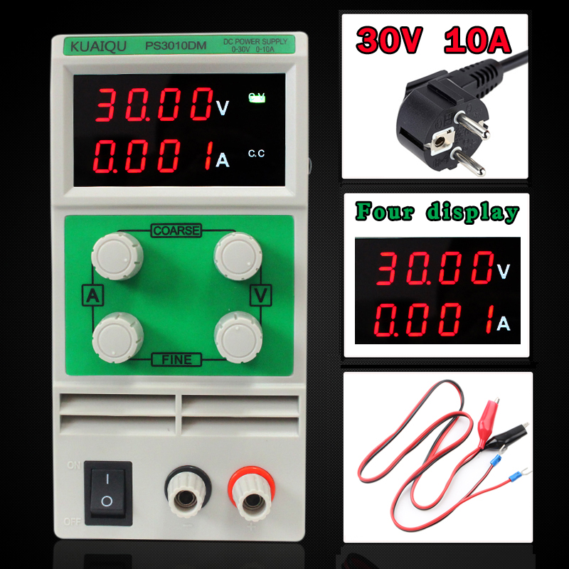 30V 5A Mini Adjustable DC Power Supply,laboratory Power Supply,Digital Variable Voltage regulator 30V 10A Four display PS3010DM four digit display rps3003c 2 adjustable dc power supply 30v 3a linear power supply repair