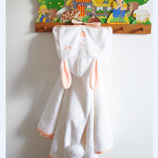 Ins Conejo Niño Bata Polar Albornoz Robe Kids Trajes Niño Niña Paño Niños Lindos Capa Muy Cómodo 3 Tamaño Cicishop