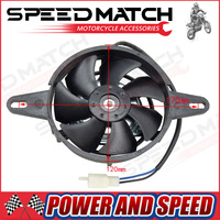 Oil Cooler Water Cooler New Electric Radiator Cooling Fan For 200 250 Cc Chinese ATV Quad