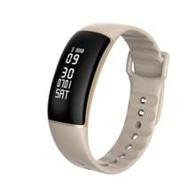 2017 New Arrival Waterproof Good Band Health Tracker Wristband Coronary heart Fee Monitor Bluetooth Good Bracelet for IOS Android