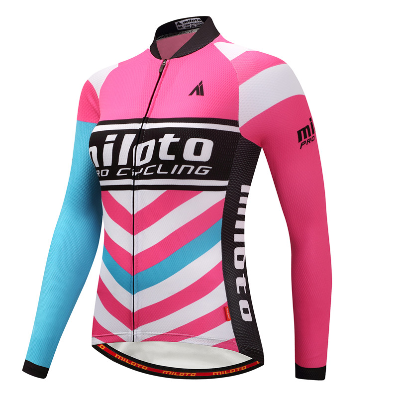 Weimostar Pro Team Race Sport Cycling Clothing Winter Thermal Fleece Cycling Jersey Long Sleeve mtb Bike Jersey Bicycle Clothes