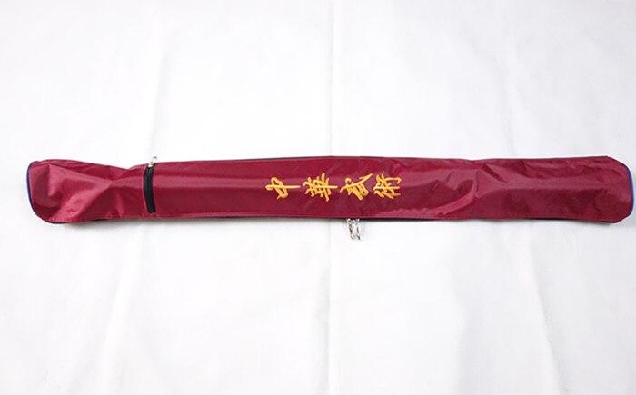 Chinese Wushu Taichi Kungfu Sword Bag 115cm, Blade Carrying Bag Case Box Sword Bag,  Carrying Fan Phone And So On