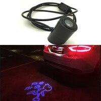 Auto Laser Schwanz Logo Led-Licht Anti Collision heck Nebelscheinwerfer Aufzucht Warnung forSubaru Mitsubishi Acura Suzuki Ford Chevrolet