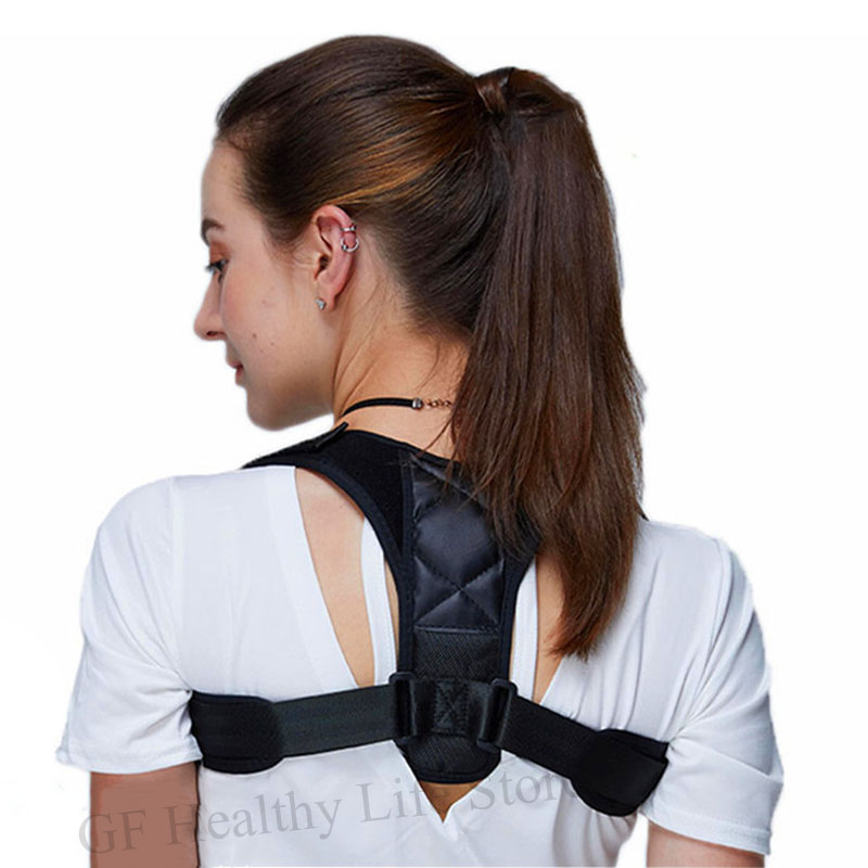 Posture Corrector Brace Support Belt Adjustable Support Back Bone Corrector Maintien Dorsal Femme Women Men Prevents Slouching