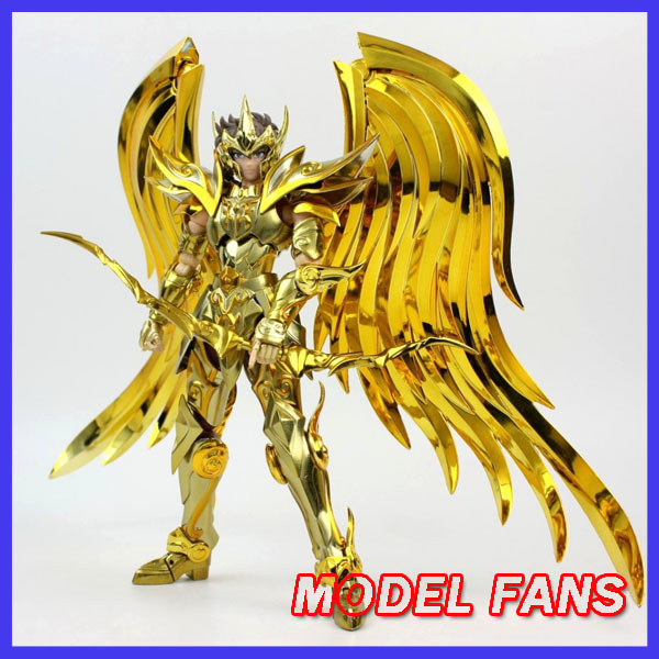 MODEL FANS IN-STOCK GT great toys sog ex Sagittarius Aiolos Soul of <font><b>Gold</b></font> <font><b>Saint</b></font> <font><b>Seiya</b></font> Metal Armor <font><b>Myth</b></font> <font><b>Cloth</b></font> <font><b>Gold</b></font> Action Figure image