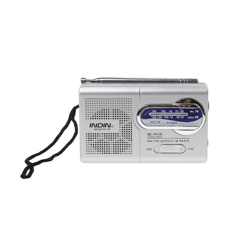 Unterhaltungselektronik Radio Aktiv Bc-r119 Tragbare Mini Radio 2-band Am Fm Welt Empfänger Versenkbare Antenne Dc 3 V