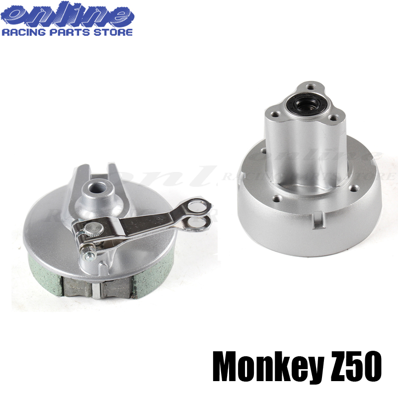 NEW Z50 REAR RIMS WHEEL HUB & BRAKE COVER FOR MOTORCYCLE DIRT PIT MONKEY BIKE Z50 PARTS футболка wearcraft premium slim fit printio graffity for keeps