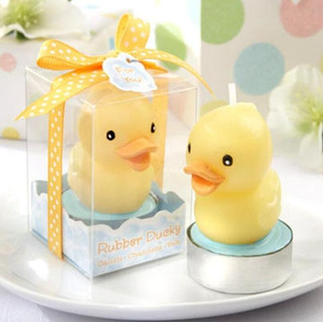 Baby Shower Party Favor Candle Rubber Duck Candle Baby Shower Favors