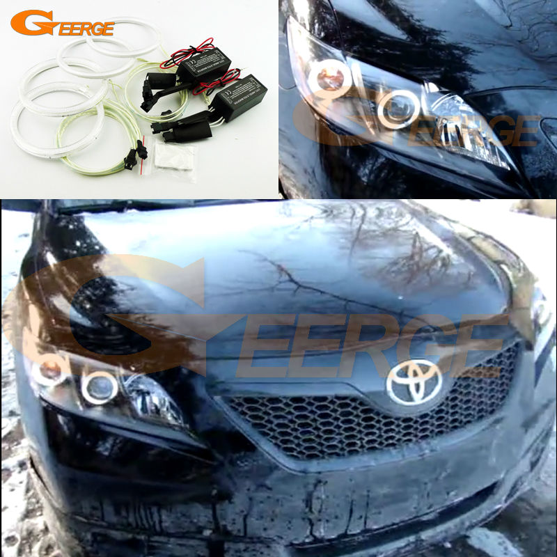 for toyota camry xv40 2006 2007 2008 2009 altise excellent ultra bright headlight illumination. Black Bedroom Furniture Sets. Home Design Ideas