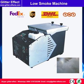 1500 Watt Disco bühne performance tief liegenden boden rauch spezialeffekt DJ bühne ankle höhe niedriger boden rauch eis nebel maschine