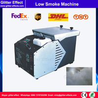 1500W Disco stage perfomance low lying floor smoke special effect DJ stage ankle height low ground smoke ice fog machine