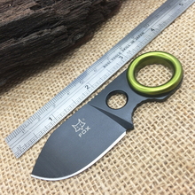 Fine Mini Small Camping Knife Fox Fixed Hunting Knives With 5CR15MOV Blade G10 Handle EDC Survival Card Knfe