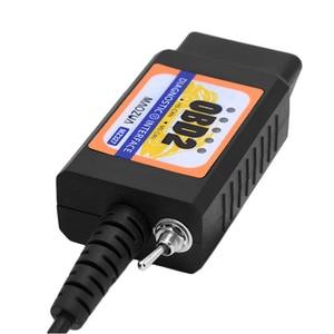 Image 5 - OBD2 ELM327 USB Switch OBD Scanner Code Reader Chip MZ327 Tester Modified Open Hidden Diagnostic Tool for Ford Forscan