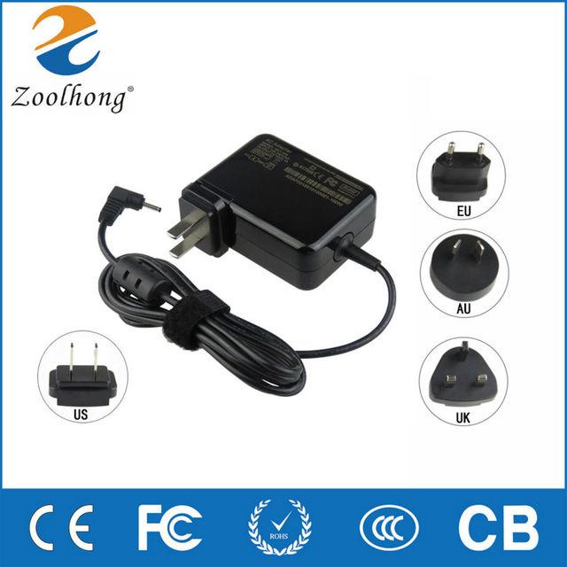 19 В 2.1A 40 Вт AC ноутбук адаптер питания зарядное устройство для ASUS Eee PC 1001HA 1001 P 1001PX 1005HA 1101HA 1008HA ноутбук 2.5 мм * 0.7 мм