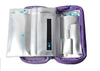 High Quality 2 8 Degree Centigrade Display Portable Ice Cooler Bag Travel Insulin Packs