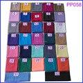 Вискоза горячие продажи равнине шарфы сплошной цвет шали обруча хиджаб мусульманки аксессуары 90*180 см