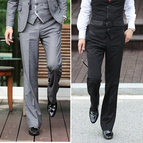 2016 Luxury Brand Straight Business Casual Men Pants High Quality ...