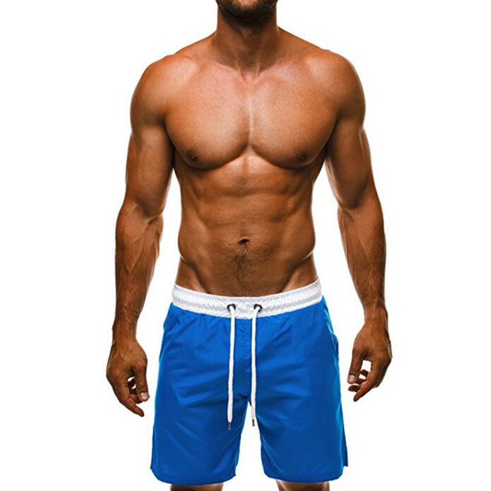 New Hot Fashion Mens Shorts Swim Trunks Breathable Beach Surfing Running Water Pants For Male Drop Shipping