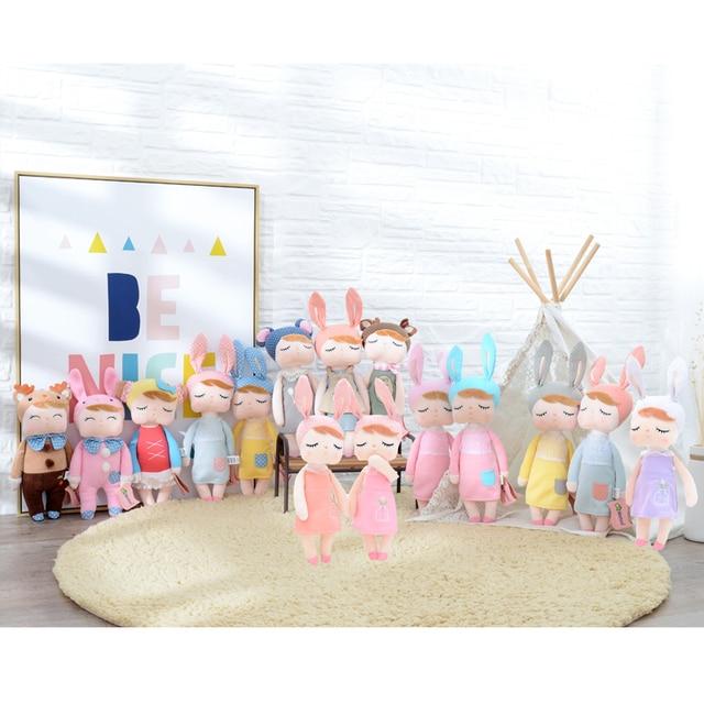 """Официальный METOO Плюшевый Анжела куклы девочка одежда Skit подарок игрушки для детей детские мягкие игрушки для подарков 12*4"""""""