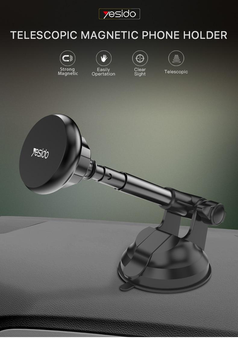 Magnetic Car Phone Holder Stand Windshield Sucker Car Mount(1)
