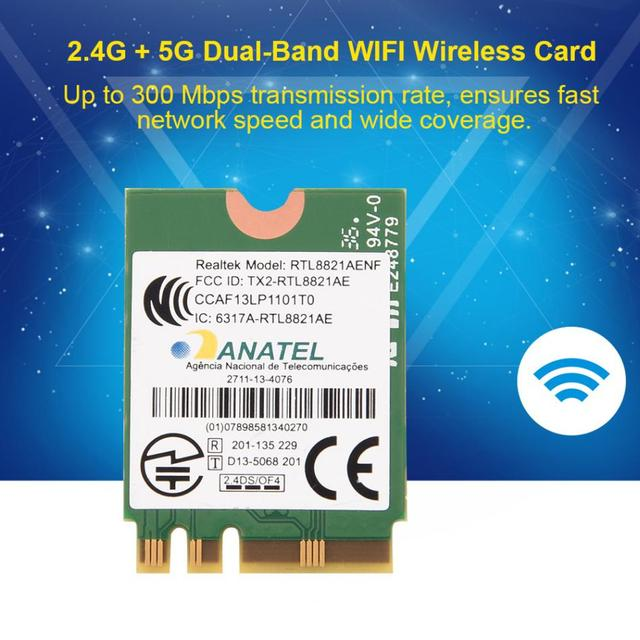 Bluetooth 4.0 + 2.4G/5G dwuzakresowe karty sieciowe WIFI bezprzewodowa Mini karta NGFF/M2 do laptopa karty WIFI do laptopa