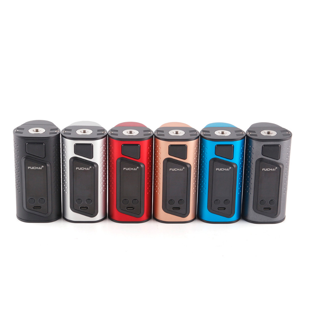 Original Sigelei fuchai duo 3 Box Mod 255W electronic cigarette TC Fuchai Duo-3 mod OLED display VS Sigelei fuchai 213 plus vape electronic cigarette fuchai glo vape kit comes 2 8ml slydr m atomizer tank glo 230w box mod vs sigelei 213 plus vaporizer