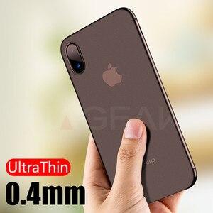 Image 5 - NAGFAK 0.29mm Mat Telefon iPhone için kılıf 6 6 S Artı 8 7 Artı Durumda Ultra Ince Sert Kapak iPhone X 5 5 S SE 10 Telefon Çanta Kılıfları