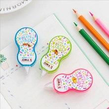 1 X Cute mini Floret  Correction Fluid Tape Material Escolar Kawaii Stationery Office School Supplies Papelaria