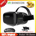 VR SHINECON 1.0 VR BOX BOBOVR Version VR Helmet 3D Glasses Virtual Reality Goggles Google Cardboard + Bluetooth Wireless Remote