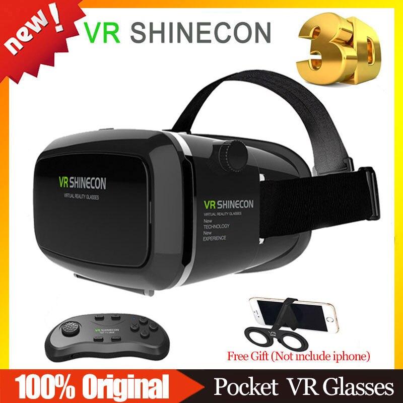 Versión CAJA BOBOVR SHINECON 1.0 VR VR VR Casco Gafas 3D Gafas de Realidad Virtu