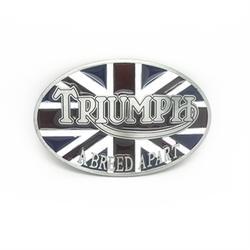 Оптовая Продажа цинковый сплав ковбойские buckleoval британский флаг с триумфом металлическая пряжка на ремешке для 4 см ремень аксессуары