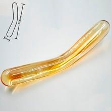 Anal dildo butt plug crystal artificial male prostate masturbator