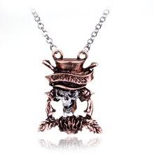 Fashion Popular Rock Music Guns N 'Roses Band Series Collier The Beatles G N' R Torque Skull GnR Head Chain Necklace