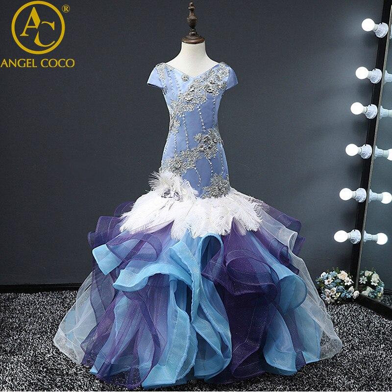 Girl Evening Dress Model Fashion Beauty Contest Catwalk