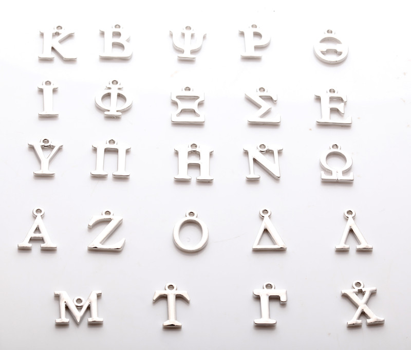 Greek letter charms reviews online shopping greek letter for Greek letters for sale