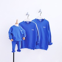 Family Look 2018 Fashion Mother Father Baby Cotton Mommy and Me Clothes Family Clothing Embroidery Family Matching Outfits