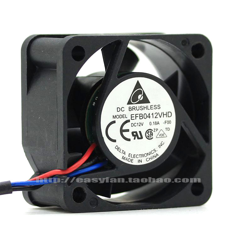 brand new DELTA EFB0412VHD -F00 4cm4020 12V0.18A Server cooling fan
