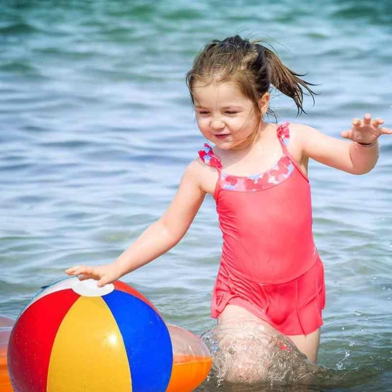Nhựa PVC Bơm Hơi Bãi Biển Bóng Nhiều Màu Trẻ Em Đồ Chơi Bồn Tắm Bóng Kid Đi Biển Tắm Bơi Đồ Chơi Dụng Cụ Phụ Kiện