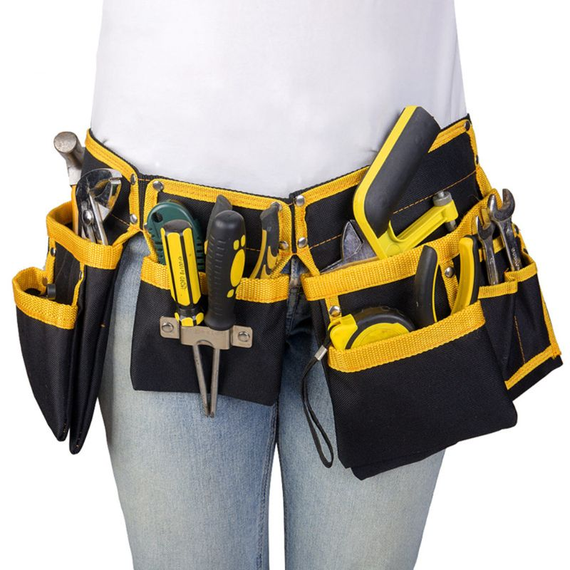 Multi-functional Electrician Tools Bag Waist Pouch Belt Storage Holder Organizer free ship 14