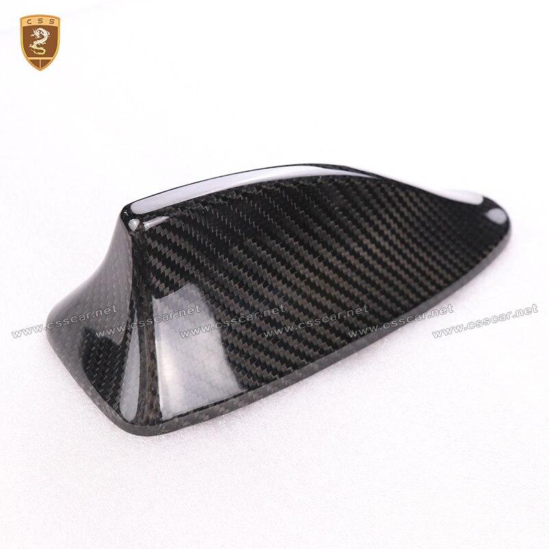 100% couverture d'antenne d'aileron de requin de Fiber de carbone pour BMW 5 Series F10 2011 2012 2013 2014 2015 accessoires d'auto de haute qualité de style de voiture